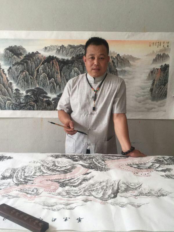 刘喜军_北京画家刘喜军\